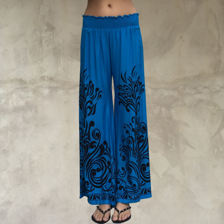 Pantalone turchese