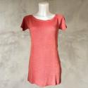 T-Shirt lurex rosa oro